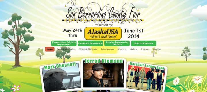 San Bernardino County Fair Event Website