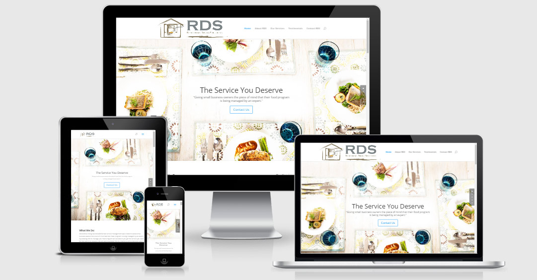 Residential Dining Solutions - Food Service - Website Redesign - Refresh